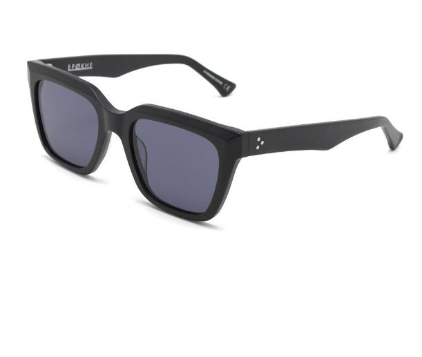 Epokhe VALENTINE Matte Black Sunglasses Side View