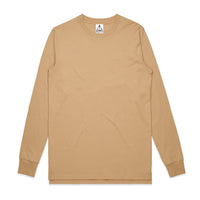 QUAY - Basic L/S Tee Tan