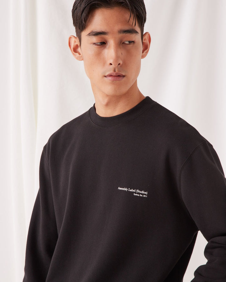 ASSEMBLY - Genesis Pullover Black