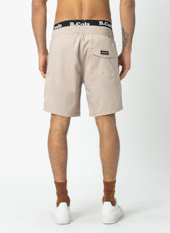BARNEY COOLS - Amphibious Short Tan