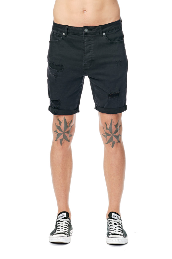 A BRAND - A Dropped Skinny Short Blackout