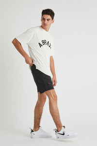 A BRAND - A Cropped Slim Short Smoked