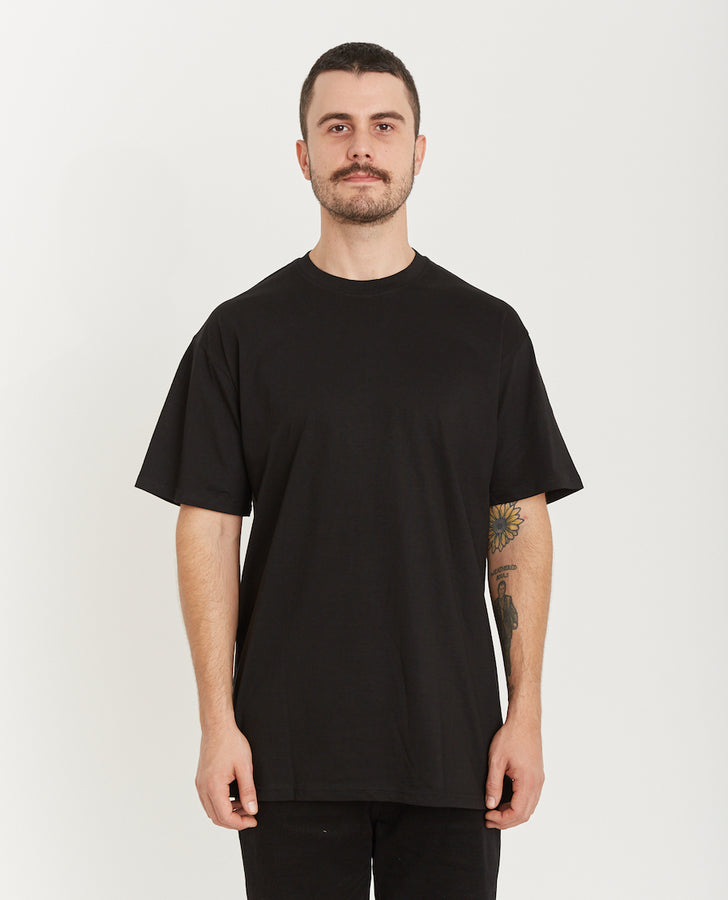 QUAY - Basic Reg+ Tee Black