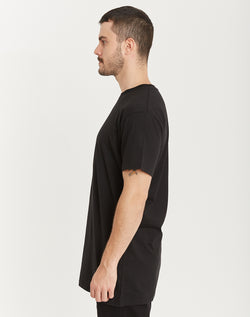 QUAY - Basic Tall Tee Black