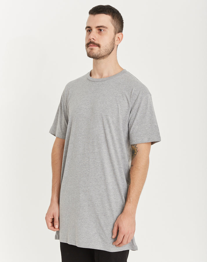 QUAY - Basic Tall Tee Grey