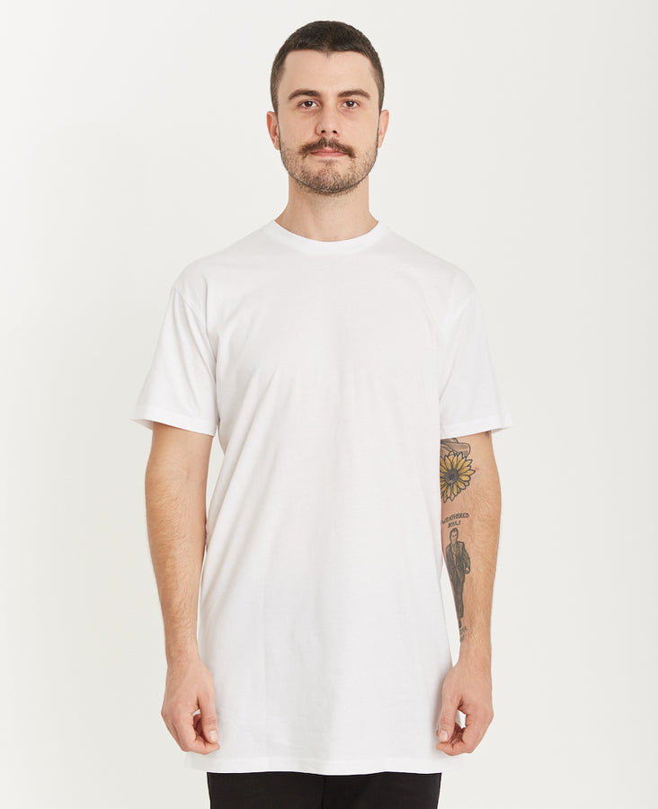 QUAY - Basic Tall Tee White