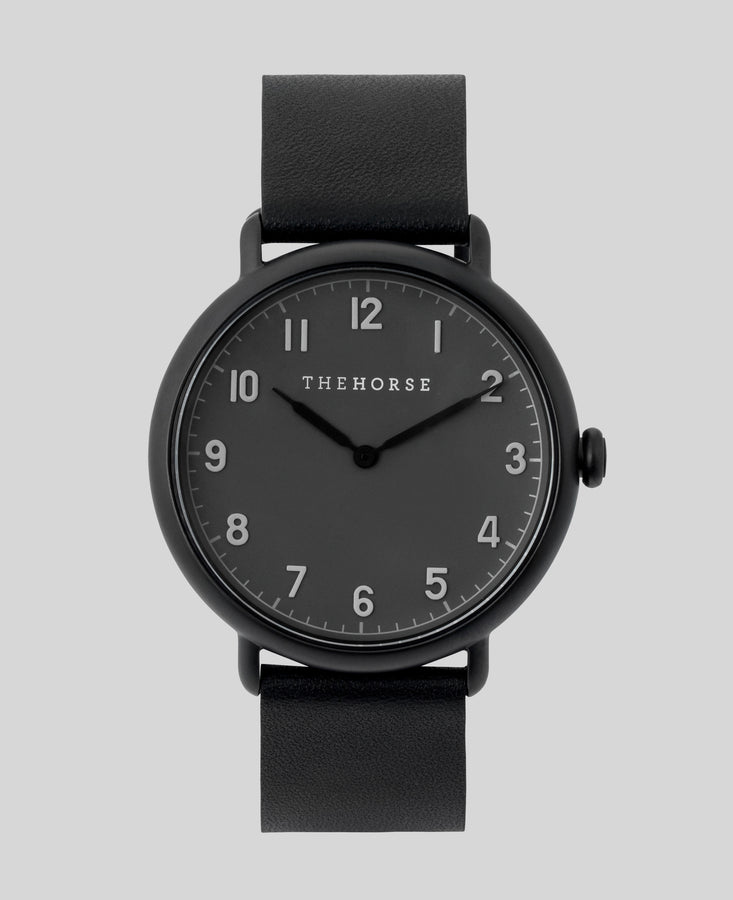 THE HORSE - The Heritage Matte Black & Grey