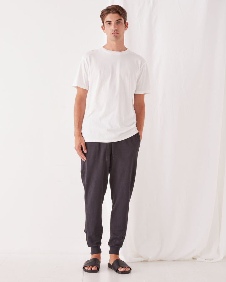 ASSEMBLY - Lennox Lounge Pant Washed Black