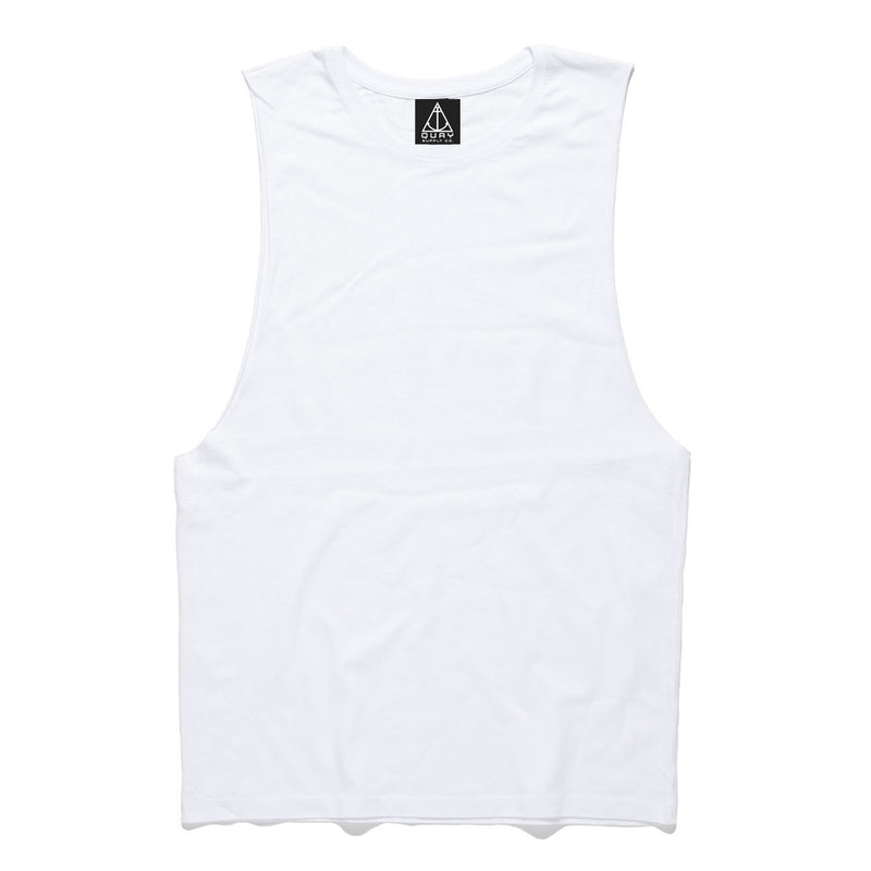 QUAY - Basic Reg Muscle White