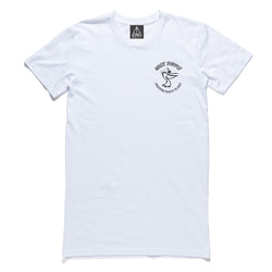 QUAY Pelican Tall Tee White Front View