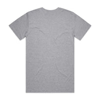 QUAY - Basic Reg+ Tee Grey Back View