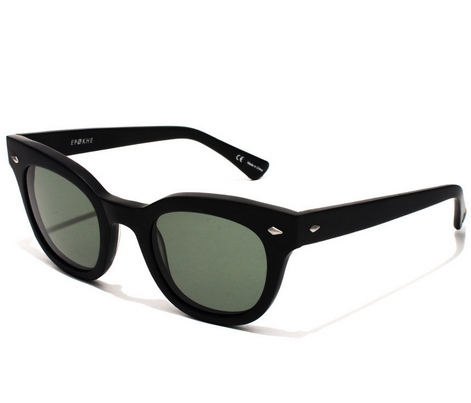 Epokhe Dylan Sunglasses Matte Black Side