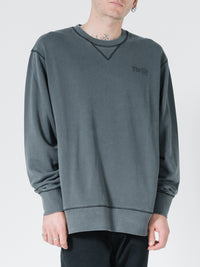 THRILLS - OPS Oversized Crew Merch Black