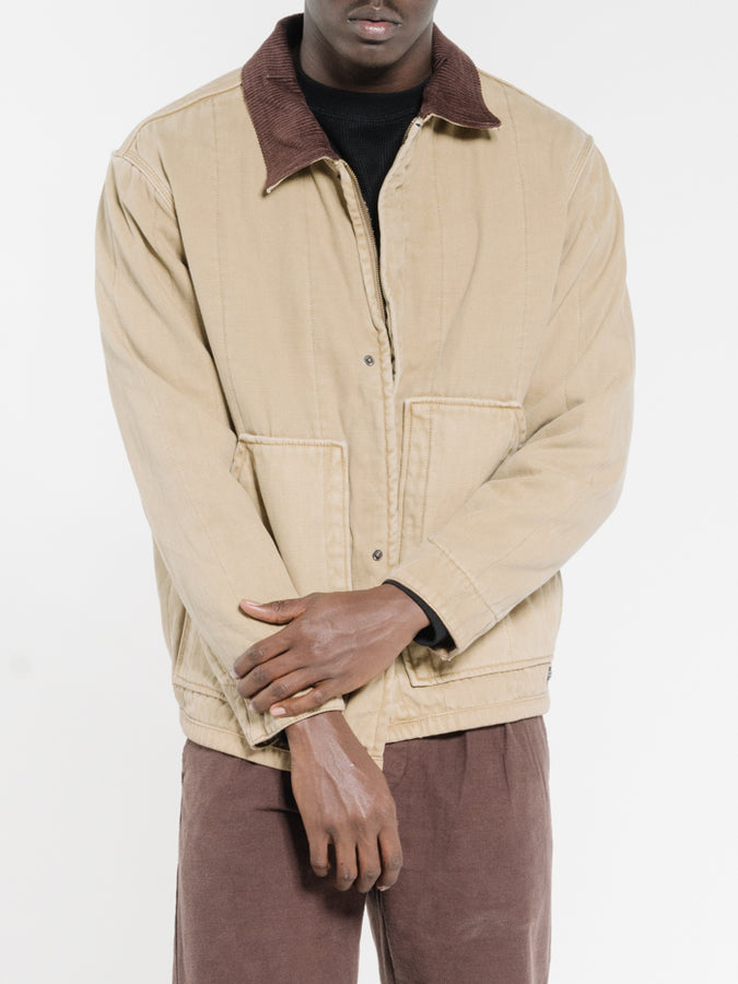 THRILLS - Carpenter Jacket Washed Tan