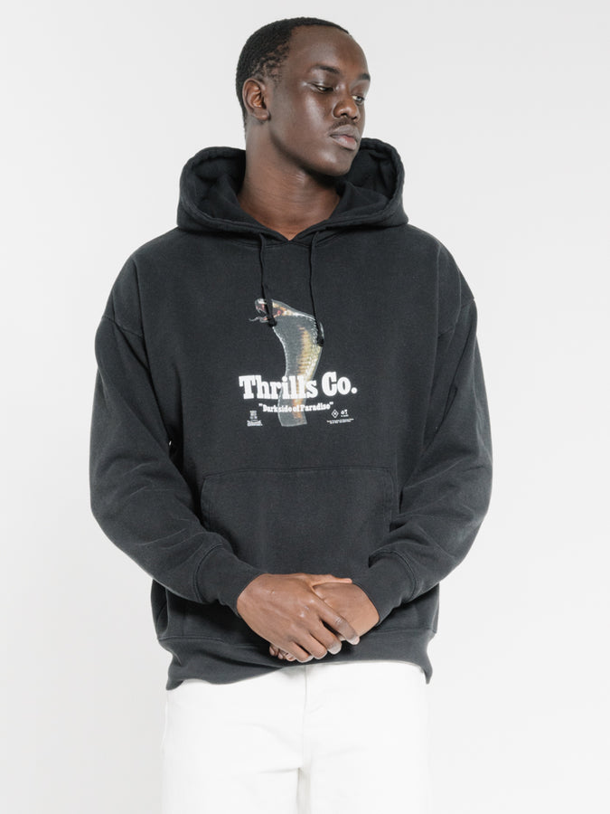 THRILLS - Darkside Slouch Pull On Hood Black