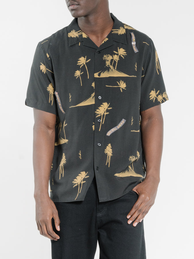 THRILLS - Disco Mush Bowling Shirt Black