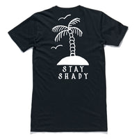 "QUAY - ""Palm Tree"" Tall Tee Black"