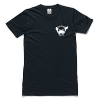 "QUAY - ""Crab"" Tall Tee Black"