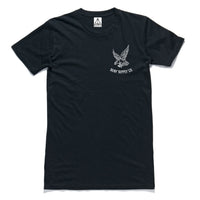 "QUAY - ""Eagle"" Tall Tee Black"