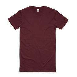 QUAY - Basic Tall Tee Maroon
