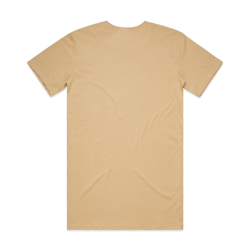 QUAY - Basic Tall Tee Tan Back View