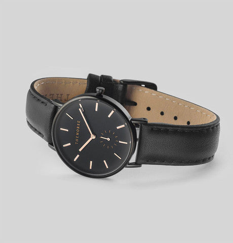 THE HORSE - The Classic- Black / Black Band