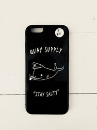"QUAY - ""Salty Whale"" Phone Case"