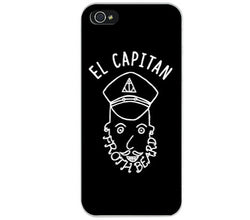 "QUAY - ""El Capitan Froth Beard"" iPhone Case"
