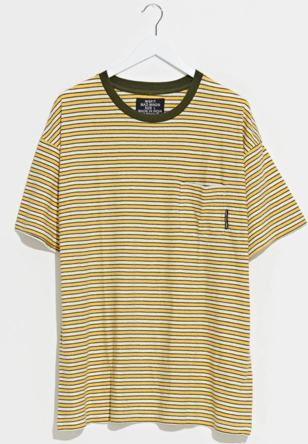 MISFIT - Love Lee S/S Tee Yellow