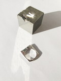 "Andy Lifschutz ""Grand Hotel' Reclaimed Sterling Ring"