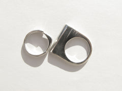 Andy Lifschutz Reclaimed Sterling 'Divine' Ring