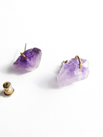 Amethyst Gemstone Posts