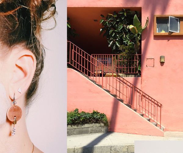 Copper Mesa Earrings