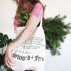 Sword+Fern Imaginary Societies Wildcrafting Tote