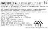 S+F Lip Care-Rose Quartz