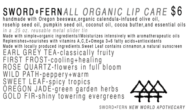S+F Lip Care-Oregon Jade