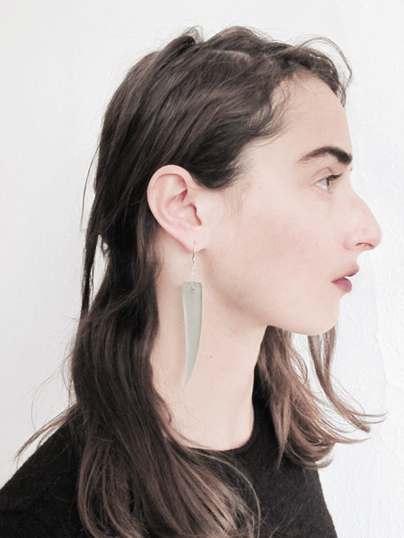 Sword Earrings-Ocean