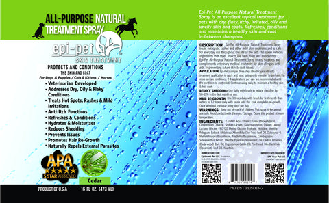 All-Purpose Natural Treatment Spray-Cedar