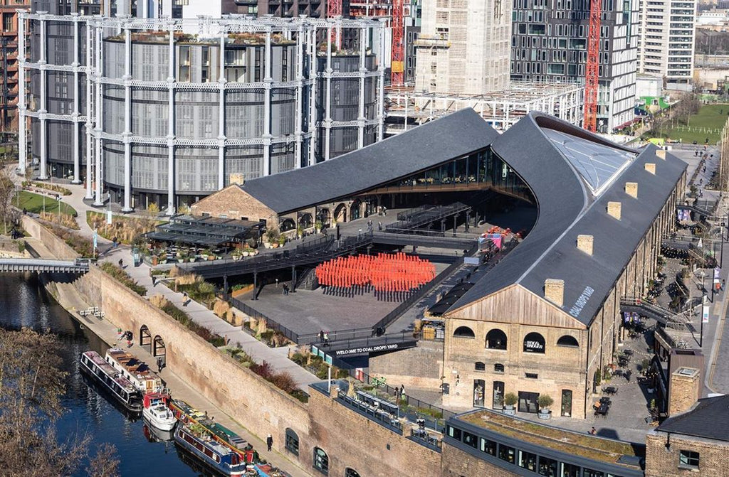 #LoveInTheYard for Valentine's Day at Coal Drops Yard