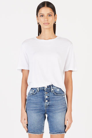 COTTON CITIZEN – THE SYDNEY TEE IN WHITE