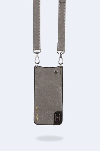 The Harper Bandolier in Grey/Silver