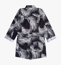 Load image into Gallery viewer, The Romper in Black Palms