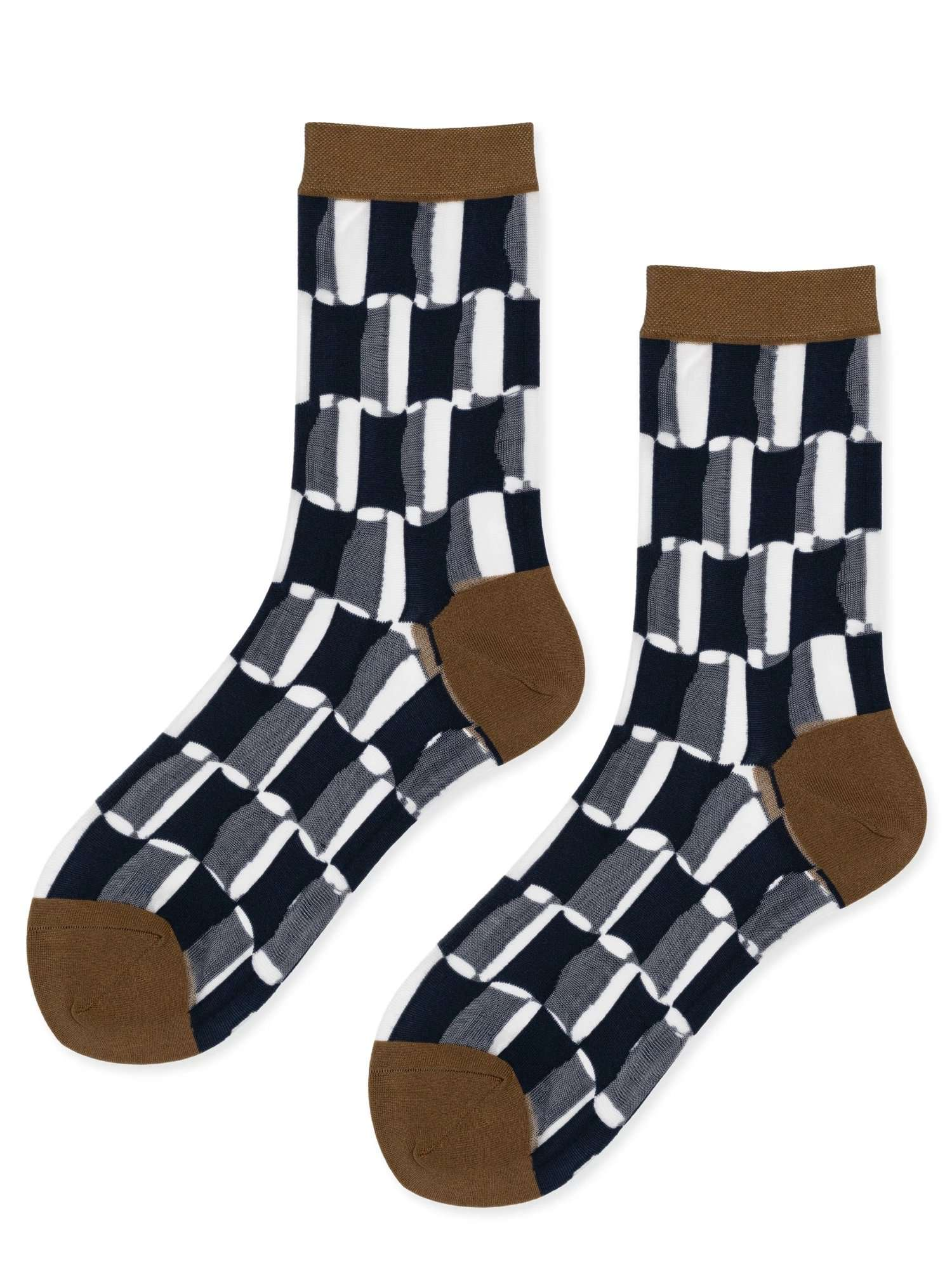 The Petit Chucks Sheer Crew Socks