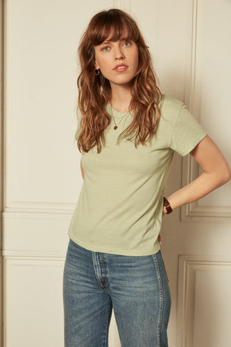 The Jagger Tee in Mint