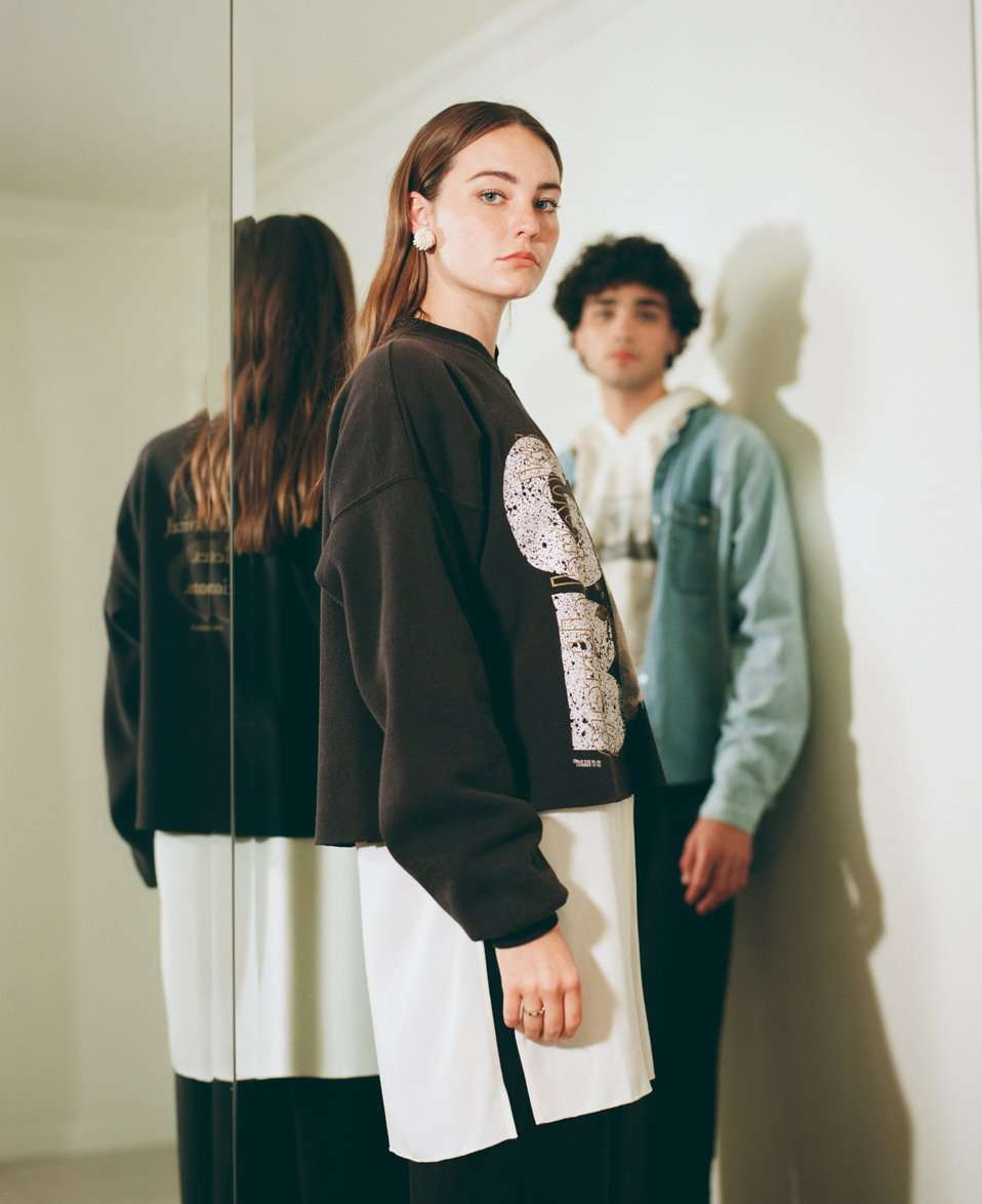 The Assembled Sweatshirt in Black