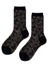 Load image into Gallery viewer, The Cheetah Sheer Crew Sock