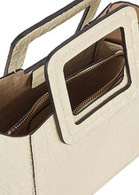 Load image into Gallery viewer, The Mini Shirley Leather Bag in Cream