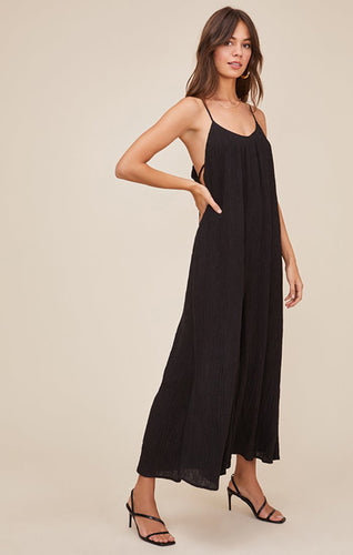 The Suraya Jumpsuit in Black