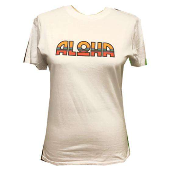 The Aloha Tee in White