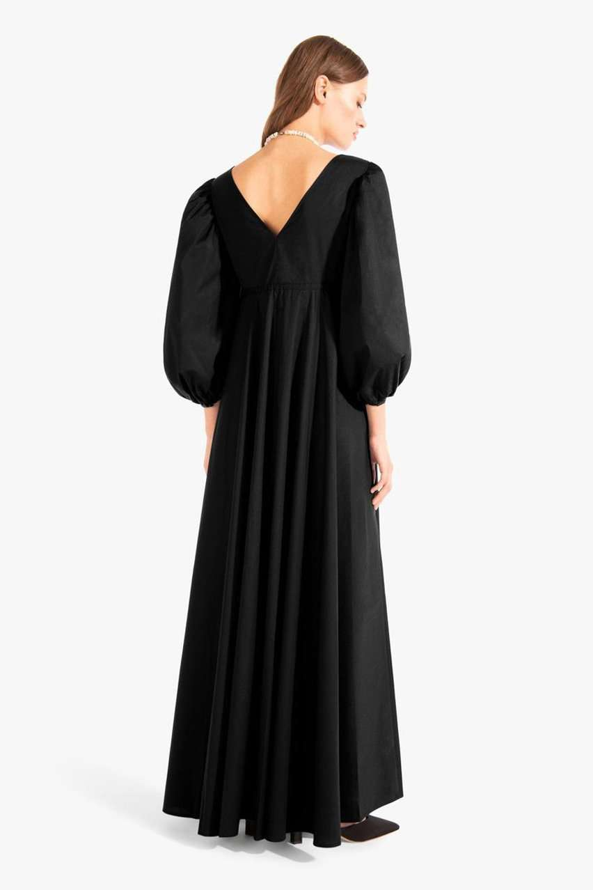The Amaretti Dress in Black